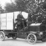 1909: Scania transport van melk