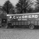 1932: DAF 5 tons 1 assige trailer