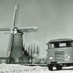 1953: DAF A50 in een oerhollands landschap