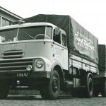 1958: DAF 2000 DO Internationaal transport